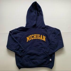 University of Michigan Pullover Hoodie Sweatshirt
